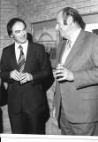With Norman del Mar 1980